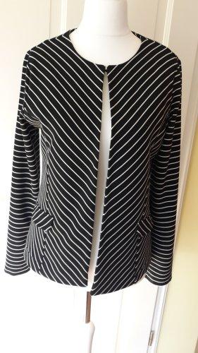 schwarz weiss gestreiftes Jäckchen von Betty Barclay * Gr. 40 * wenig getragen