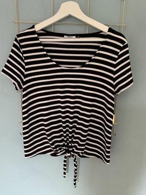 Only Camiseta blanco-negro