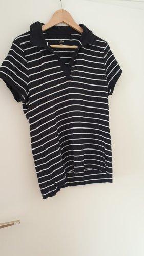 C&A Basic Shirt black-white cotton
