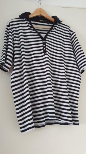 Fabiani Basic Shirt black-white cotton