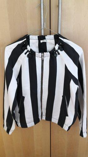 Schwarz-weiß Jacke