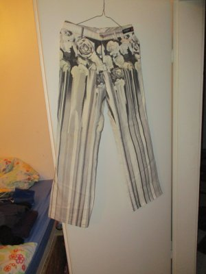 schwarz / weiß Jeans