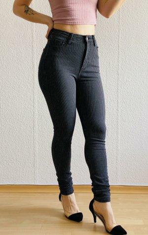 Schwarz-Weiss Jeans von Tally Weijl