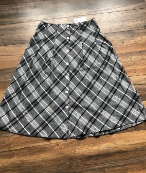 Christian Berg Plaid Skirt multicolored