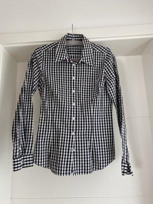 Schwarz/Weiß kariertes Hemd