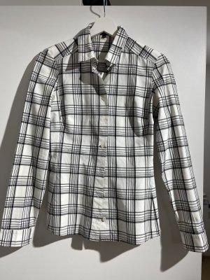 Schwarz-weiß kariertes Hemd von Gucci IT40