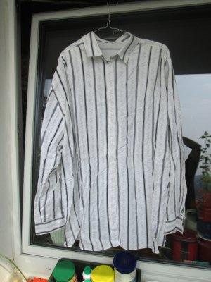 schwarz-weiß Langarm-Bluse
