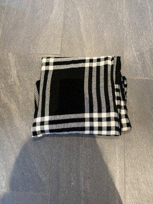 New Yorker Gebreide sjaal wit-zwart