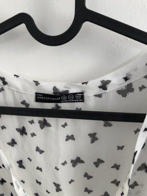 schwarz-weiß Sommerbluse