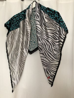 edc by Esprit Summer Scarf turquoise-white