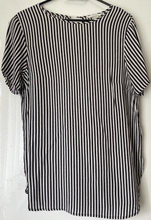 schwarz weiße Bluse