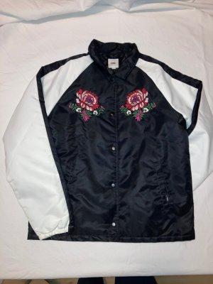 Schwarz-weiße Jacke von Vans