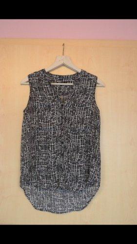 Schwarz-weiße, leichte Bluse