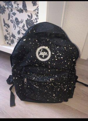 Schwarz weißer Hype Rucksack