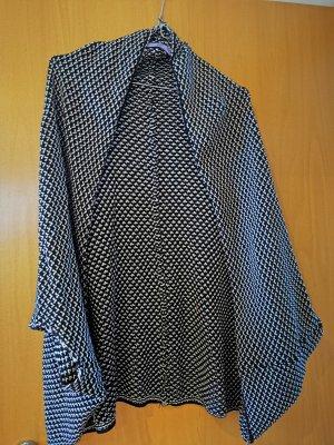 AJC Cardigan tricotés noir-blanc coton