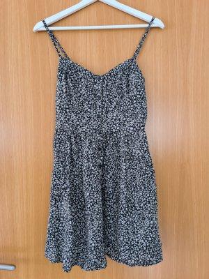 FB Sister Pinafore dress white-black