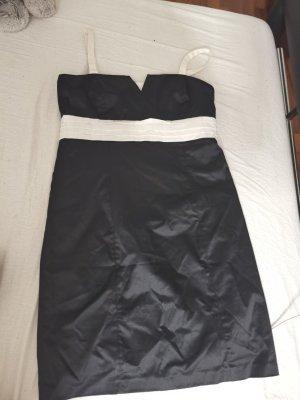 1.2.3. UN DEUX TROIS Paris Sukienka mini biały-czarny