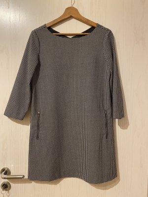 Mango Sukienka o kroju litery A biały-czarny