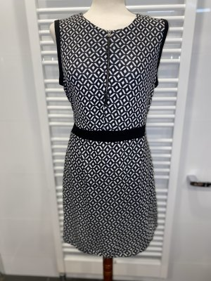 Schwarz-weißes Kleid Gr. 44