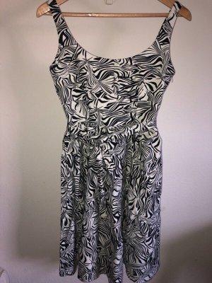 Schwarz-weißes Kleid von L.K Bennett