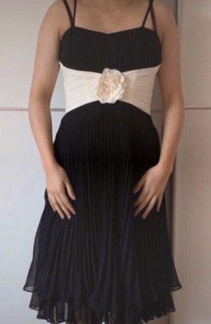 Schwarz weißes P&C Kleid