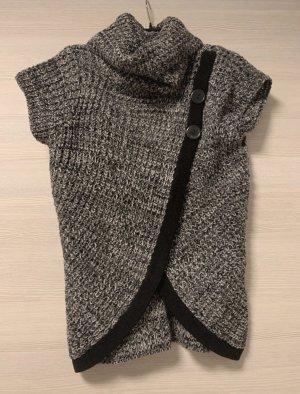 Schwarz/Weißes Rollkragentshirt