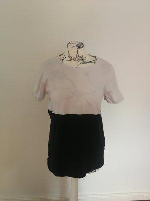 COS T-shirt czarny-biały