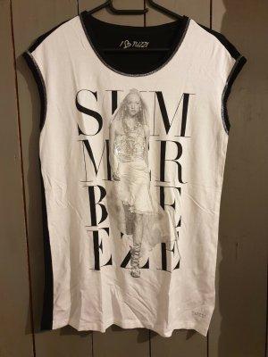 Tuzzi T-shirt bianco-nero