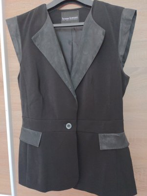 Bruno Banani Fake Fur Vest black