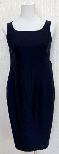 Escada Sheath Dress black-dark blue wool