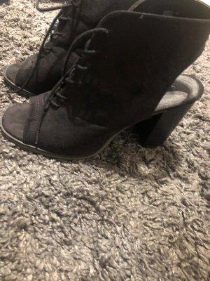 Primark Botas de tobillo negro