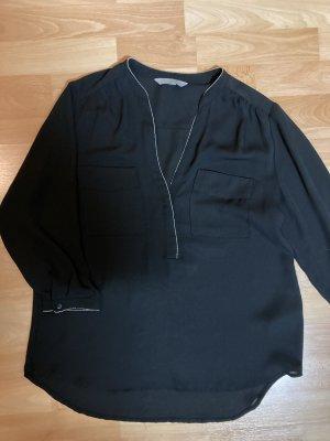 schwarze 3/4 Bluse