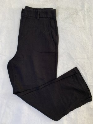 Colours of the World 7/8 Length Trousers black linen