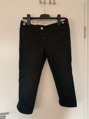 Gerry Weber Pantalon 3/4 noir coton