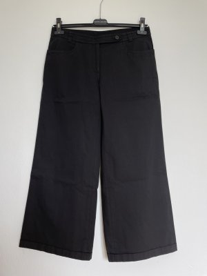 René Lezard 7/8 Length Trousers black cotton