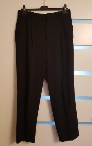 Schwarze 7/8 stoffhose Zara