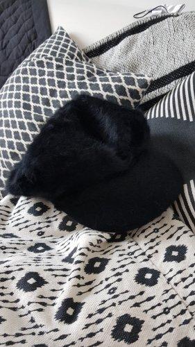 H&M Casquette à visière noir