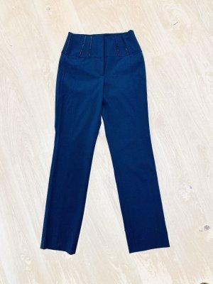 Cambio Hoge taille broek zwart Polyester