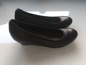 Tamaris Bailarinas sin talón marrón-negro-azul oscuro