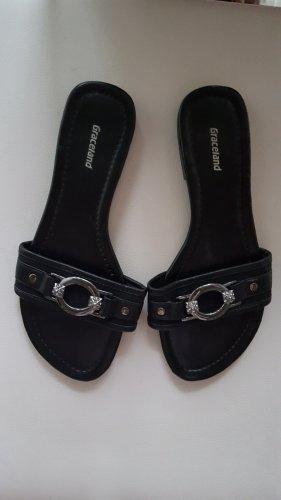 Graceland Sandalias con tacón negro