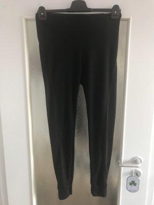Schwarze active Leggings, Größe M!