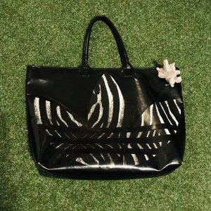 Schwarze Adidas Handtasche / Training