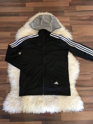 Schwarze Adidas Jacke