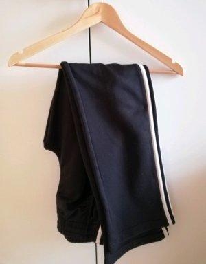 Adidas Joggingbroek zwart-wit