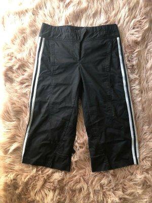 Schwarze Adidas Sporthose 3/4-Hose 36