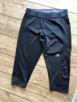 schwarze Adidas Tight 3/4 Länge