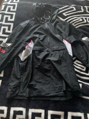 Schwarze Adidas Windbreaker