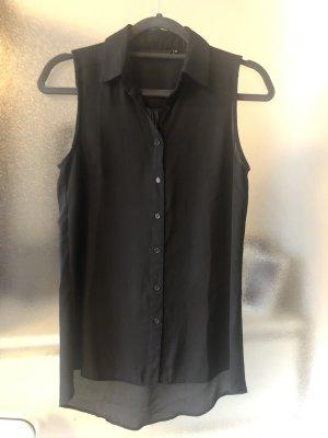 Schwarze ärmellose Bluse von New Look