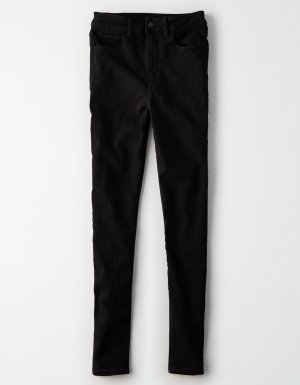 schwarze American Eagle Outfitters Jeans Jeggins