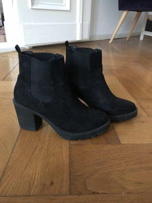 London Rebel Botas de tobillo negro